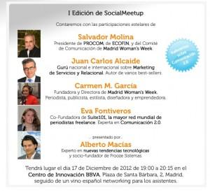 Salvador Molina intervendrá el 17 de diciembre en el primer 'SocialMeetup' sobre periodismo 2.0